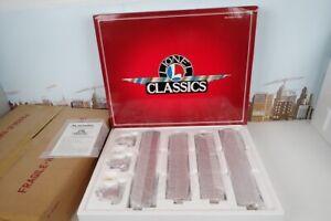 Lionel Classics O Gauge No.6-51201 Red Rail Chief Streamliner Passenger Car Set