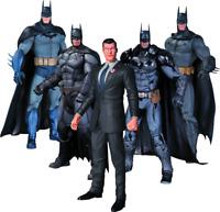 Batman - Arkham Series Batman Action Figures 5-Pack-DCCMAR150321