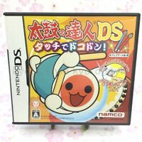 USED Nintendo DS Taiko no Tatsujin dokodon 96600 JAPAN IMPORT