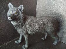 Safari Ltd. Wildlife Wonders Black Wolf Figure Toy