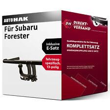 Für Subaru Forester SH Anhängerkupplung starr+ES 13p ABE