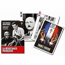 Le français Résistance Lot de 52 cartes à jouer + Jokers ( Gib )