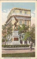 Savannah, GEORGIA - Masonic Temple - Jasper Monument