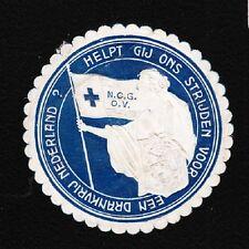 VINTAGE CINDERELLA Netherlands Prohibition Drink Free Tape Remnant I