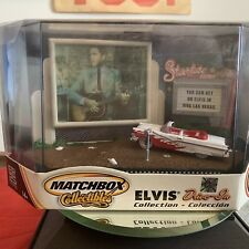 MATCHBOX COLLECTIBLES ELVIS DRIVE-IN COLLECTION 1956 FORD FAIRLANE SUNLINER