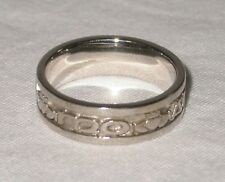 Sterling Silver Celtic Gaelic Mo Anam Cara My Soul Mate Ring Size 8 Boru
