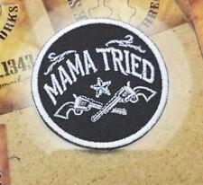 Mama Tried circle patch