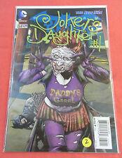 Batman DARK KNIGHT #23.4 - 2D cover - Joker's Daughter