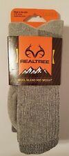 Realtree Socks Wool Blend Mid Weight Socks 2 pair Large Free Shipping