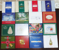 Lot of 16 White House Historical Christmas Ornaments 2000 - 2015