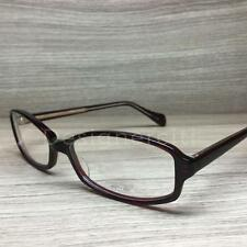 Oliver Peoples Talana Eyeglasses Dark Bordeaux Gold SI Authentic 52mm