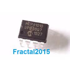 1 Pcs MCP41010-I/P MCP41010 DIP-8