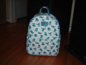 LOUNGEFLY DISNEY STITCH POSES MINI BACKPACK~ WITH TAGS~BRAND NEW~