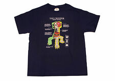MINECRAFT The Creeper Youth T-shirt Color: Navy Blue Size: Large Youth