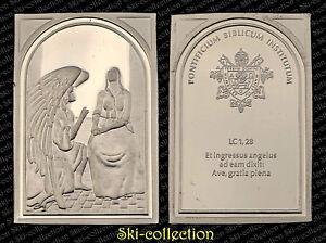 Médaille de VATICAN. Pontificium Institutum Biblicum. Argent/ Silver 999°-25,9 g