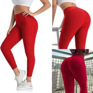 Women Fitness Leggings Push UP High Waist Yoga Pants Workout Seamless Leggins