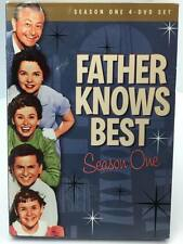 Father Knows Best: Season One (DVD, 2008, 4-Disc Set) Very Good.