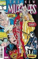 The New Mutants Comic Issue 98 Facsimile Edition 2019 Rob Liefeld Nicieza Rosen