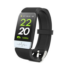 ECG+PPG Display Smart Bracelet Bluetooth 4.0 Heart Rate Blood Pressure Monitor