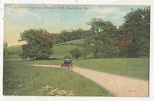 Cameron Extension Park, HARRISBURG PA Antique Automobile Pennsylvania Postcard
