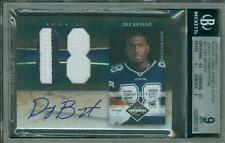 2010 Limited Jumbo Jersey Prime Auto /5 Dez Bryant #21 BGS 9 10 Rookie Autograph