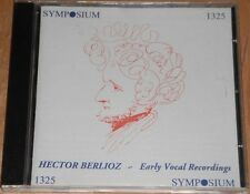 Hector Berlioz: Early Vocal Recordings (CD)