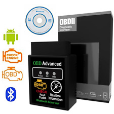 ELM 327 OBD2 DIAGNOSI AUTO OBDII BLUETOOTH per Android PC Diagnostica + Software