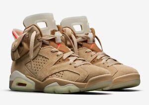 Jordan 6 Retro Travis Scott British Khaki  DH0690-200 Size 10.5  Nike Confirmed
