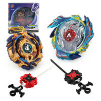 Beyblade Burst B-73 B-79 Beys w/Handle Launcher Toys Starter Set Spinning Child