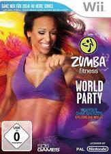 Wii Zumba Fitness World Party deutsch NEU OVP mit Anleitung deutsche Version