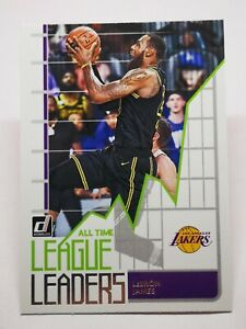 Panini Donruss 2020-21 N2 card NBA All-Time LEAGUE LEADERS LeBron James #2