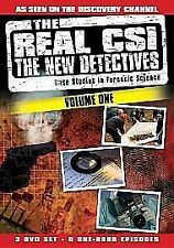 THE REAL CSI  - VOLUME 1 - 8 EPISODES ON 3 DVDS  -  BRAND NEW SEALED