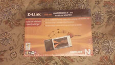 D-Link DWA-645 N650 Laptop Notebook Network Cardbus Adapter Wi-Fi NEW SEALED BOX