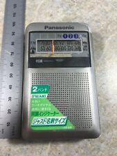 Panasonic RF-NA10 FM AM Pocket mini-Radio - Works Great Japan
