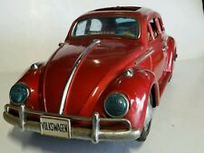 vintage Bandai tin Volkswagen battery operated large toy made in Japan