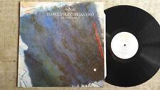 Harold Budd / Brian Eno With Daniel Lanois – The Pearl - - LP Editions EG