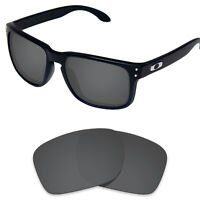 Tintart Polarized Replacement Lens for-Oakley Holbrook OO9102 Carbon Black (STD)