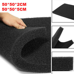 50*50CM Aquarium Bio Sponge Foam Filter Sheet Pad Activated Carbon Filtration