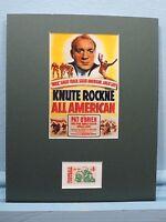 Notre Dame Football - Knute Rockne All American & the Football Centennial stamp