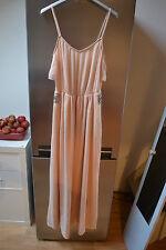Glamour et chic robe couture Pull&Bear rose poudrée t36 ! NEUVE! Douce !
