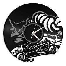 Subaru Vinyl Wall Clock Record Sport Cars Decorative Unique Gift Bedroom Decor