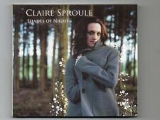 CLAIRE SPROULE - SHADES OF NIGHT- CD - NEW - Free 1st Class Post UK