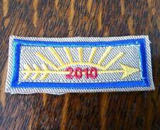 BSA Uniform Patch Scouts Shirt Gold Arrow Light Rank Emblem Badge Embroidered