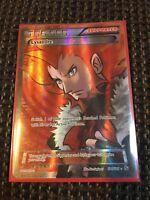 Pokemon Lysandre 104/106 Flashfire Full Art FOIL NM!!