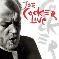 JOE COCKER - LIVE 180 GR. VINYL GATEFOLD SLEEVE 2 VINYL LP NEU