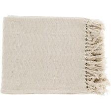 Thelma by Surya Throw Blanket, Cream - THM6003-5060