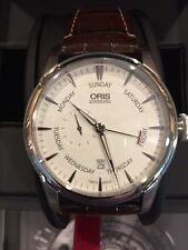 NEW ORIS ARTELIER SMALL SECOND HAND POINTER DAY