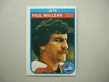 1982/83 O-PEE-CHEE NHL HOCKEY CARD #386 PAUL MACLEAN ROOKIE NM SHARP!! 82/83 OPC