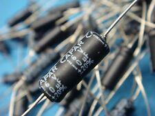 (20) CAE10M16V CAPAR 10uF 16V 20% AXIAL LEAD ALUMINUM ELECTROLYTIC CAPACITOR