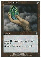 MTG MOSS DIAMOND - DIAMANTE DEL MUSCHIO - 7TH - MAGIC
